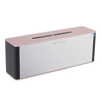T20 bluetooth draadloze 2200mAh luidspreker LED-display ondersteuning TF-kaart 3,5 mm AUX FM radio bas Hifi Soun