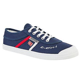 KAWASAKI FOOTWEAR - Signature canvas shoe - navy - men's footwear