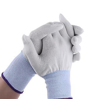 Белый нейлон оберточные перчатки