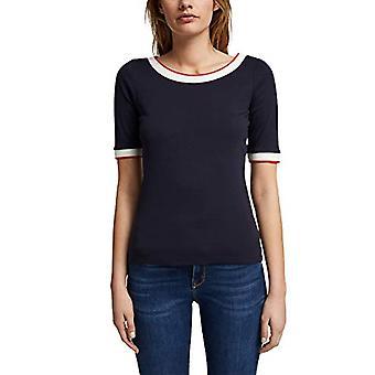 ESPRIT 991EE1K309 T-Shirt, 400/Navy, M Vrouw