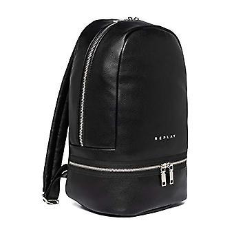 REPLAY FW3090, Backpack Bag. Woman, 298 Matte Black, UNIC