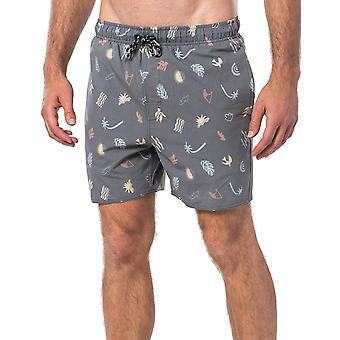 Rip Curl Seaside 16 Volley Elasticated Boardshorts in Washed Navy