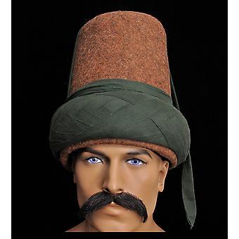 Мужчины Хлопок Шерсть Традиционная шляпа