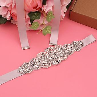 Women's Wedding Dress Rhinestone Bridesmaid Belt