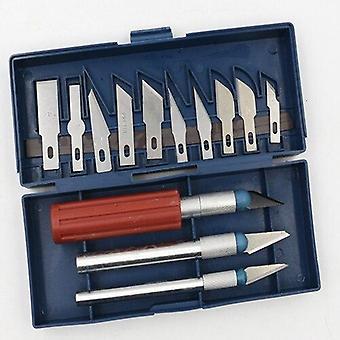 Skridsikker metal skalpel kniv værktøj kit