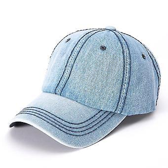 Chapeau Snapback Rétro Simple Denim Baseball Cap