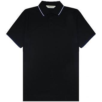 Z Zegna Stretch Cotton Short-Sleeve Polo