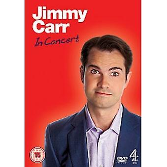 Jimmy Carr - W dvd koncertowym