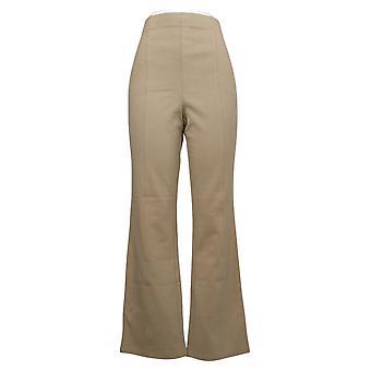 Liz Claiborne New York Women's Pants Ponte Knit Bootcut Brown A261290