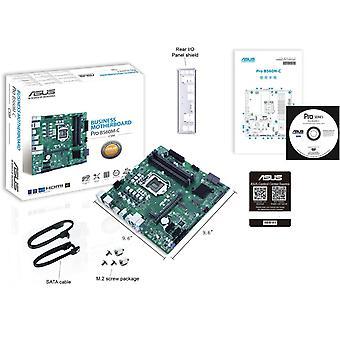 Asus PRO B560M-C/CSM, Modelo estable corporativo, Intel B560, 1200, Micro ATX, 4 DDR4, HDMI, 2 DP, 2x M.2