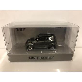 Minichamps 870098101 e.GO Life 2018 Grey Metallic 1:87 Scale