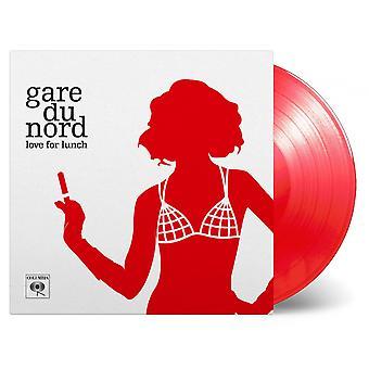 Gare Du Nord - Liefde voor lunch transparant rood vinyl