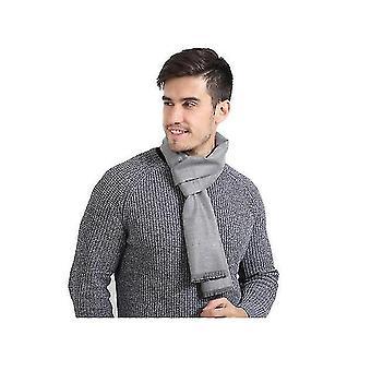 Winter Scarf Premium Cashmere Feel Unique Design Selection (LIGHTGRAY)