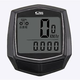 Sd-581 bicycle computer cycling wired waterproof stopwatch mtb road bike speedometer odometer sensor mini bike digital computer