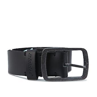 Accessories Dickies Eagle Lake Leather Belt in Black