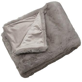 Malini Rapture Throw, Grey 150 x 180cm