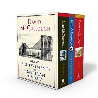 David McCullough Suuria saavutuksia Amerikan historiassa The Great Bridge the Path Between the Seas and the Wright Brothers by David McCullough