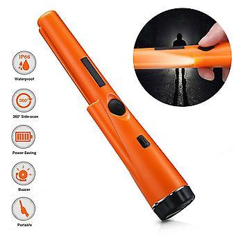 ( Rød) Håndholdt Pin Pointer Pinpoint Metal Detector Vandtæt Gold Pinpointer Tools UK