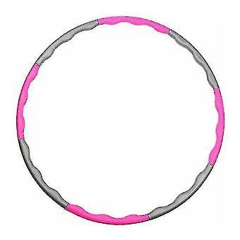 Collapsible Hula Hoop(Pink)
