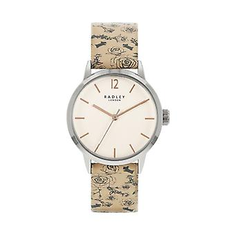 Radley Mto - Ss21 Promo Ry21245a Cream Dial Leather Strap Ladies Watch