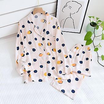Super Comfortable 2021 Ladies Pajamas Two-piece Spring And Summer Plus