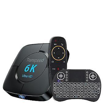 Transpeed 6k Ultra Hd Wi-fi Bluetooth Tv Box