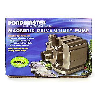 Pondmaster بركة ماج المغناطيسي محرك مضخة بركة فائدة - نموذج 7 (700 GPH)