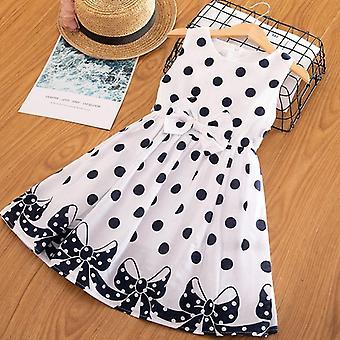 3-12 Years Polka-dot Dress