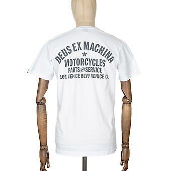 Deus Ex Machina Venedig adress Tee - vit