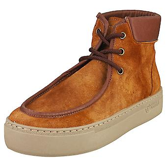 Natural World Lice Womens Chukka Boots in Brown