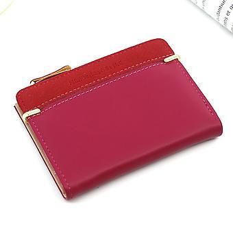 Damen Geldbörse Kurze Frauen Münze Geldbörse Mode Geldbörsen für Frau Kartenhalter Kleine Damen Brieftasche Weiblich Hasp Mini Clutch für Mädchen