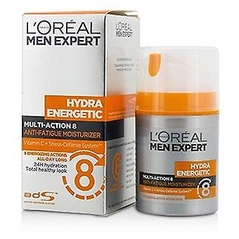 L'oreal Men Expert Hydra Energetic Multi-action 8 Anti-fatigue Moisturizer - 50ml/1.7oz