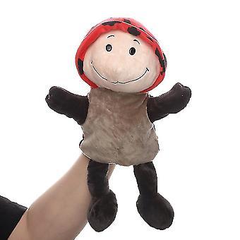 Chrobák Plyšová ručná bábková zvieracia figúrka