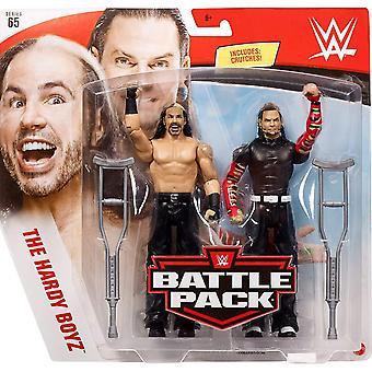 Battle Pack - Series 65 - Matt Hardy & Jeff Hardy (Hardy Boys)