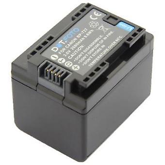 Dot.Foto BP-727 PREMIUM 3.6v / 2680mAh reemplazo batería de videocámara recargable para Canon [Consulte Descripción para la compatibilidad]
