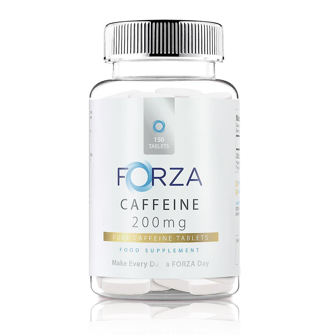 FORZA koffein tabletter 200mg - 150 tabletter