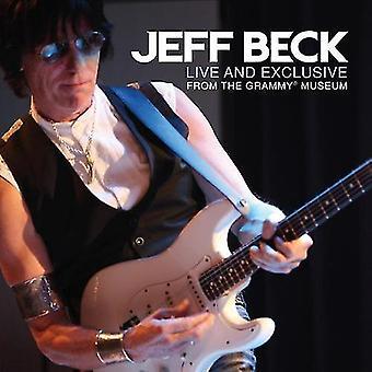 ジェフ ・ ベック - ライブ & 高級から、グラミー博物館 [CD] USA 輸入