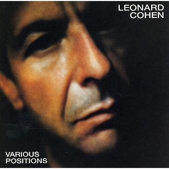 Leonard Cohen - Various Positions [CD] USA import