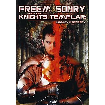 Freemasonry & the Knights Templar: Legacy of Secre [DVD] USA import
