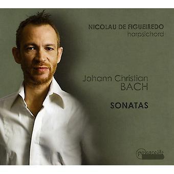 J.C. Bach - Johann Christian Bach: Sonatas [CD] USA import