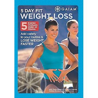5 Day Fit Weight Loss [DVD] USA import