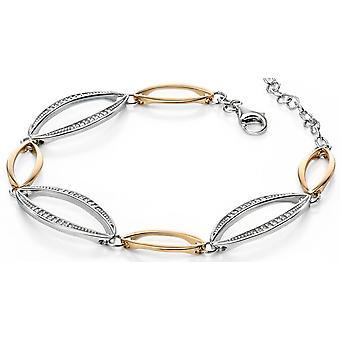 925 zilver verguld en zirkonium modieuze armband