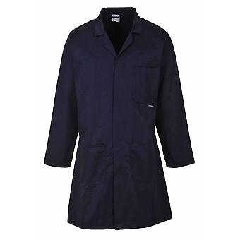 Portwest - Standard Lab Medical Coverall Mantel Navy XL