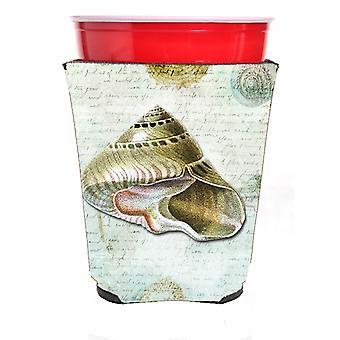Carolines trésors SB3030RSC coquilles rouge coupe Solo boissons isolant Hugger