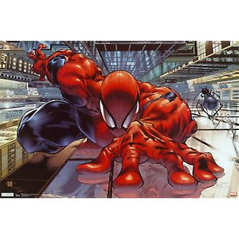 The Amazing Spiderman Wall Crawler Poster Poster Print
