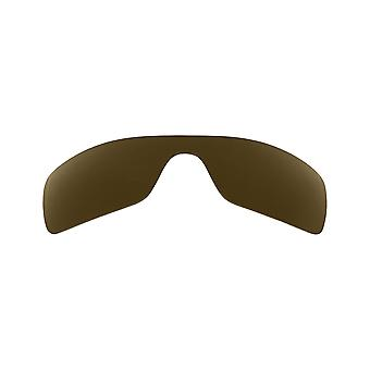 Replacement Lenses for Oakley Oil Rig Sunglasses Dark Brown Anti-Scratch Anti-Glare UV400 by SeekOptics