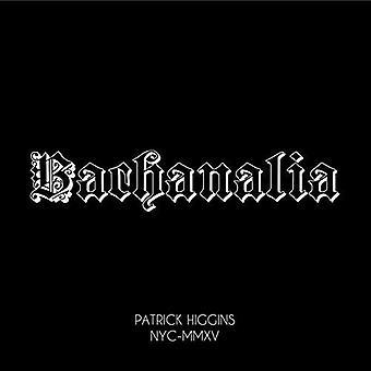 Patrick Higgins - Bachanalia [CD] USA import
