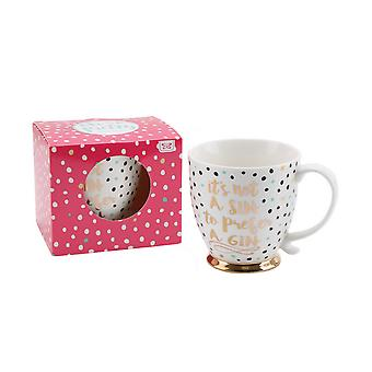 CGB Giftware Oh So Pretty Gin Mug