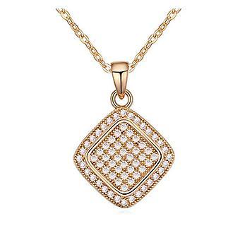 Stunning Sparkle Diamond Shape Necklace