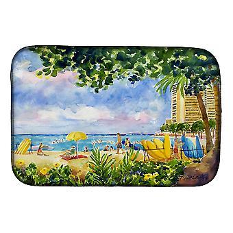 Carolines schatten 6065DDM Beach Resort uitzicht vanaf de condo schotel drogen Mat
